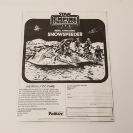 Snowspeeder instructies