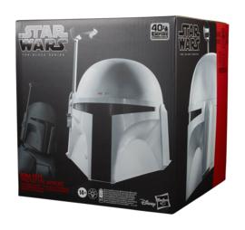 PRE-ORDER Star Wars Episode V Black Series Electronic Helmet Boba Fett (Prototype Armor)