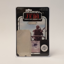 Vintage Star Wars Cardback Weequay ROTJ Clipper