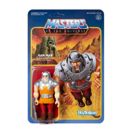 Masters of the Universe ReAction Action Figure Ram Man (Mini Comic)