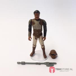 Vintage Star Wars Lando Calrissian Skiff Guard Disguise (Compleet)