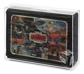 PRE-ORDER Star Wars Kenner SW ESB ROTJ Vinyl Carry Case Acrylic Display Case