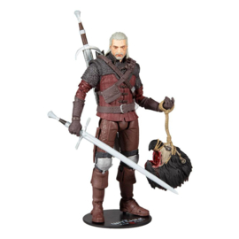 The Witcher 3: Wild Hunt Action Figure Geralt of Rivia (Wolf Armor)