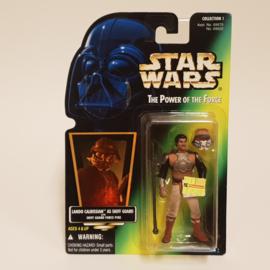 Star Wars POTF2: Lando Calrissian as Skiff Guard