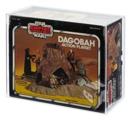 PRE-ORDER Star Wars Palitoy ESB Dagobah Action Playset Acrylic Display Case
