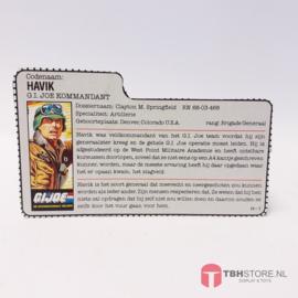 G.I. Joe File Card Havik