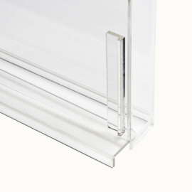 Carded Figure Display Case (Standaard bubbel diepte)