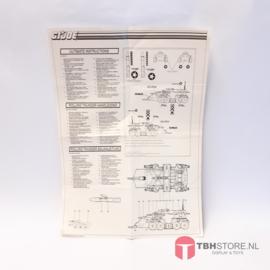 G.I. Joe Rolling Thunder Handleiding / Instructions / Bauanleitung