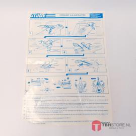 G.I. Joe Conquest X-30 Instructies
