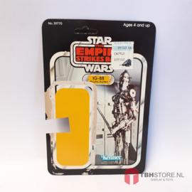 Vintage Star Wars Cardback IG-88 32 back
