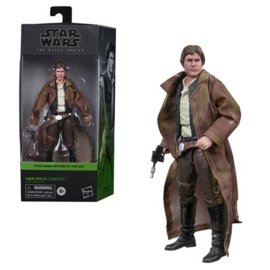 PRE-ORDER Star Wars Black Series Han Solo (Endor Trenchcoat)