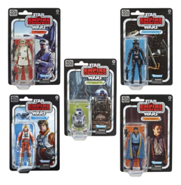 PRE ORDER Star Wars Black Series Episode V 15 cm 40th Anniversary 2020 Wave 2 Assortment (5)