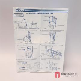 G.I. Joe Check Point Instructies