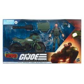 PRE-ORDER G.I. Joe Classified Series  Alvin Breaker Kibbey with Ram Cycle
