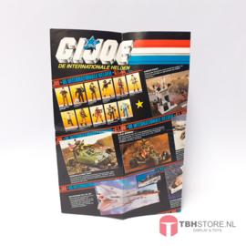G.I. Joe Poster Promo Voertuigen