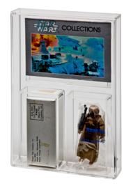 ESB 4-LOM & ROTJ Emperor & Anakin Mailer Display Case