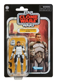 Star Wars Vintage Collection Clone Commander Wolffe (The Clone Wars)
