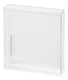 Carded Figure Display Case (Meccano Square Back)