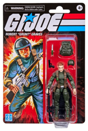 "PRE-ORDER G.I. Joe Retro Collection Series Robert ""Grunt"" Graves"