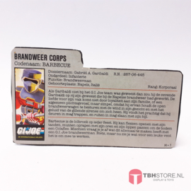 G.I. Joe File Card Barbeque