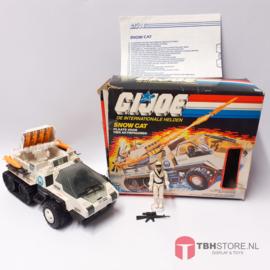 G.I. Joe Snow Cat met doos