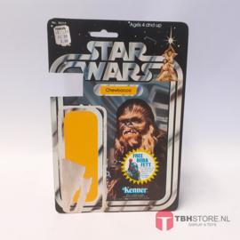 Vintage Star Wars Cardback Chewbacca met Boba Fett offer