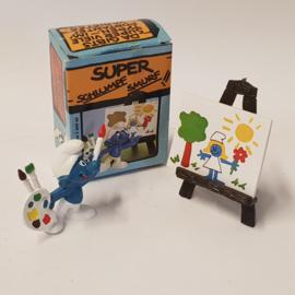 Smurfen 40239 Artist Smurf in box