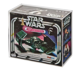 Star Wars Palitoy/Kenner Darth Vader's Tie Fighter Acrylic Display Case