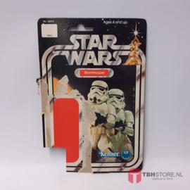 Vintage Star Wars Cardback Stormtrooper 12 back