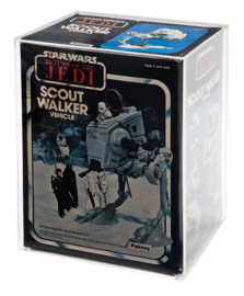 Star Wars ESB & ROTJ AT-ST Boxed Vehicle Display Case