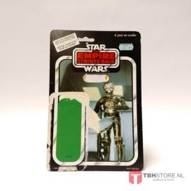 Vintage Star Wars Cardback Zuckuss ESB Clipper