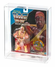 PRE-ORDER Hasbro WWF Carded Figure Acrylic Display Case (Deep)