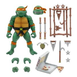 PRE-ORDER Teenage Mutant Ninja Turtles Ultimates Action Figure Michaelangelo