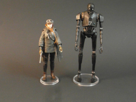 Modern Star Wars 1 inch display stands 20 stuks