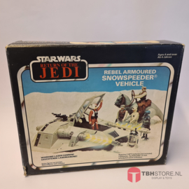 Vintage Star Wars Snowspeeder met doos