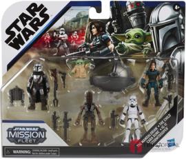 Star Wars Mission Fleet Mandalorian Defend The Child Multipack