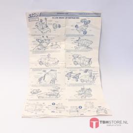 G.I. Joe Snow Cat Instructies