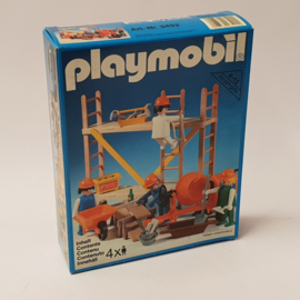 Playmobil 3492 - Construction Workers and Scaffold
