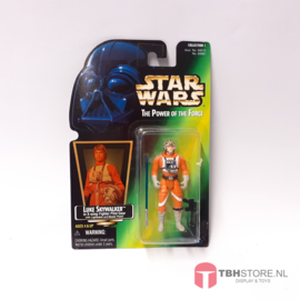 Star Wars POTF2 Green: Luke Skywalker X-Wing Pilot (Hologram)
