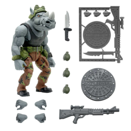 PRE-ORDER Teenage Mutant Ninja Turtles Ultimates Action Figure Rocksteady