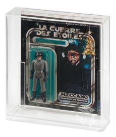 Carded Figure Display Case (Meccano Square Back)