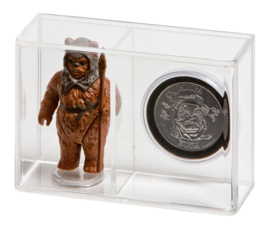 Loose Action Figure With Coin Display Case - Small 3 3/4""