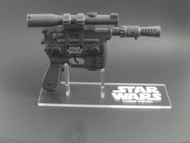 Vintage Han Solo Laser Pistol/Blaster Display Stand - Right Facing