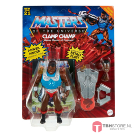 MOTU Masters of the Universe Deluxe 2021 Clamp Champ