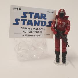 G.I. Joe Display Figure Stands 20 stuks