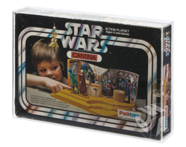 PRE-ORDER Star Wars Palitoy SW Cantina & Droid Factory Acrylic Display Case