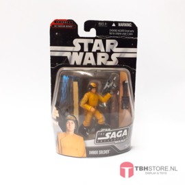 Star Wars The Saga Collection Naboo Soldier moc