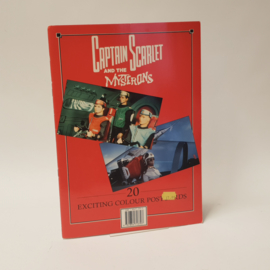 Captain Scarlet and the Mysterons 20 Colour Postcards