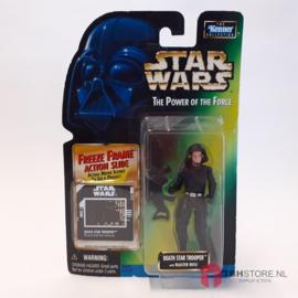 Star Wars POTF2 Green: Death Star Trooper (Freeze Frame)