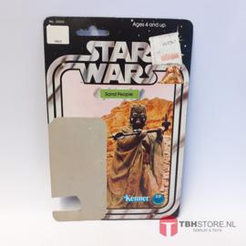 Vintage Star Wars Cardback Tusken Raider Sandpeople 12 back